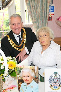 Ida's Birthday  at Blanning Dementia Day Centre in Solihull
