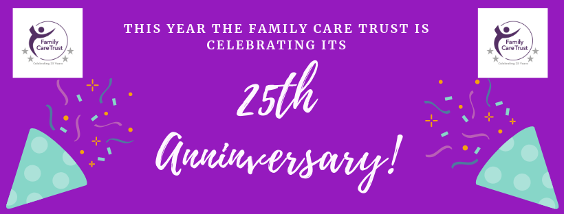 Family Care Trust is celebrating its 25th Anniversary!