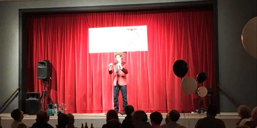What a great laugh! Comedy Night goes down a storm!