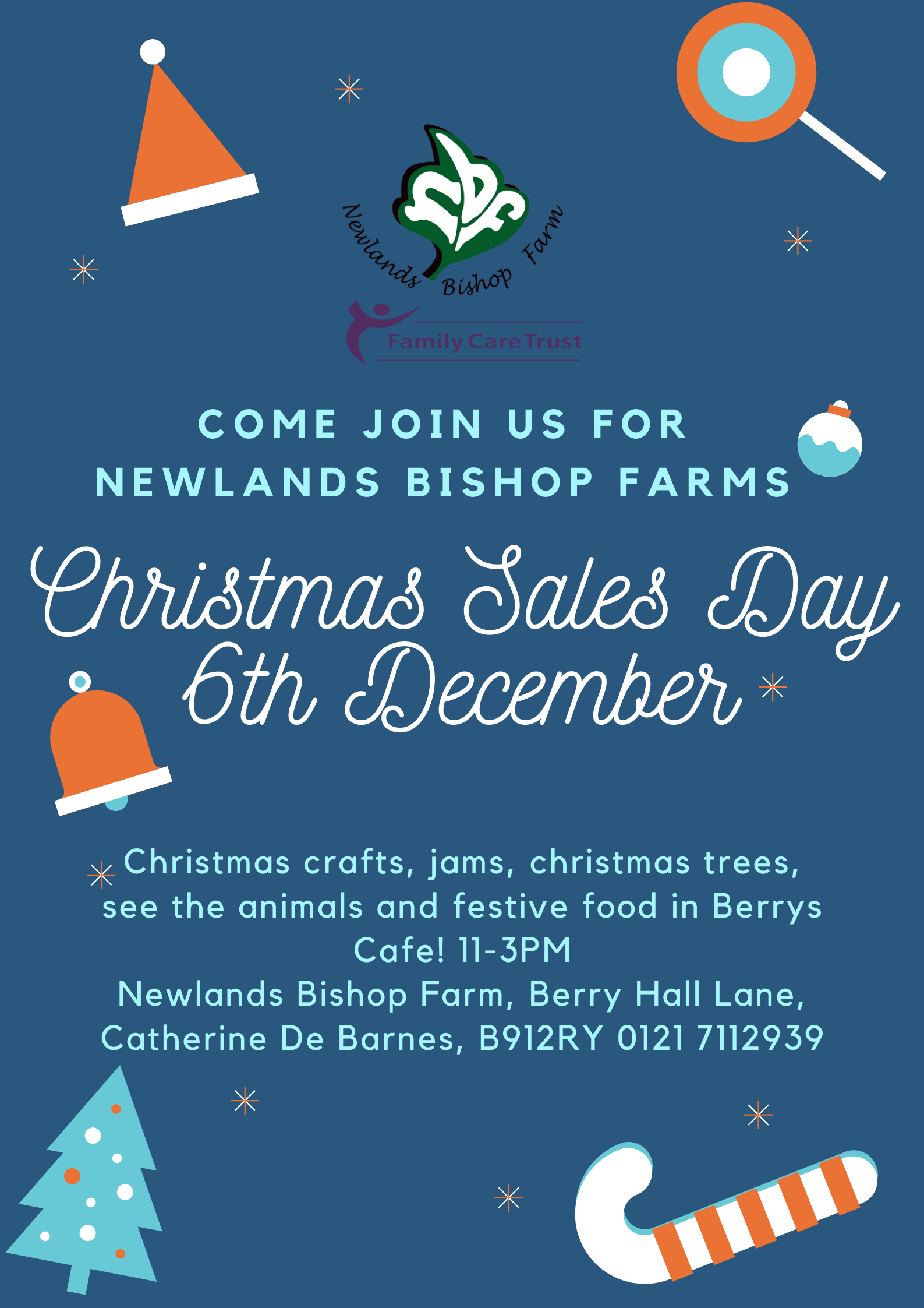 Newlands Bishop Farm Christmas Sales Day 6th December 2019